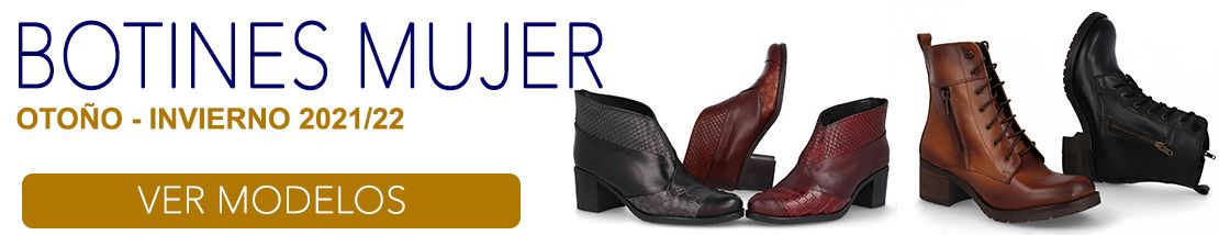 Botines Casuales Mujer